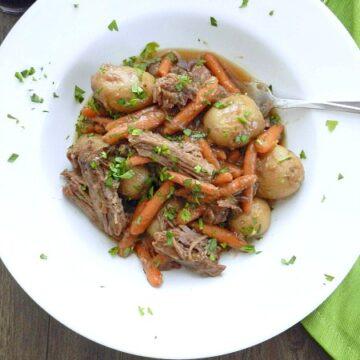 Guinness Pot Roast | cookingwithcurls.com
