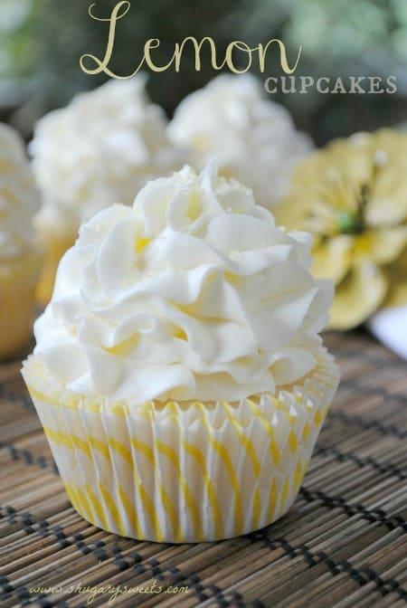 Lemon Cupcakes450