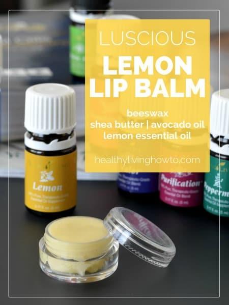 Luscious Lemon Lip Balms450