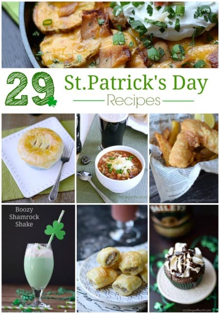 My favorite 29 St. Patrick's Day Recipes.....so far | cookingwithcurls