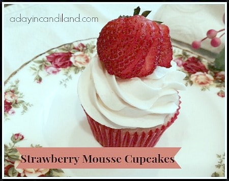 Strawberry Mousse Cupcakes450