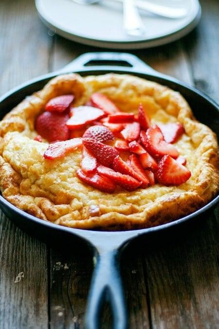 Baked Skillet Pancake450