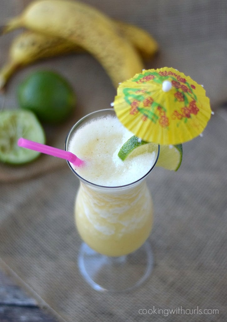 how to make a banana daiquiri