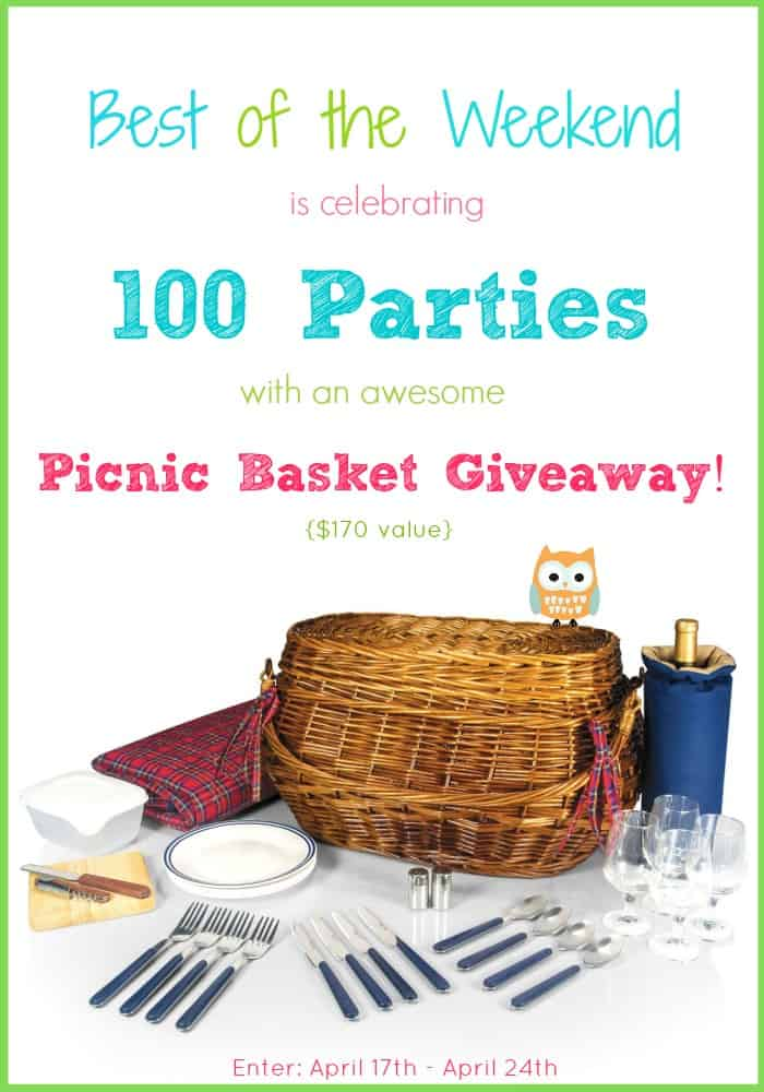 Best of the Weekend Picnic Basket Giveaway | cookingwithcurls.com