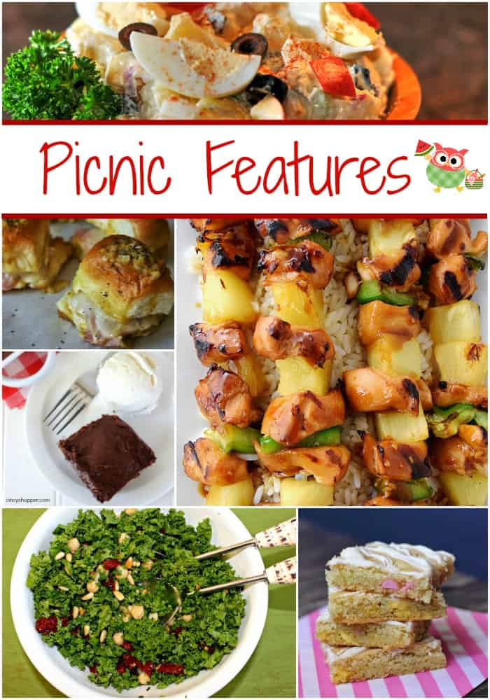 Best of the Weekend Picnic Features  cookingwithcurls.com