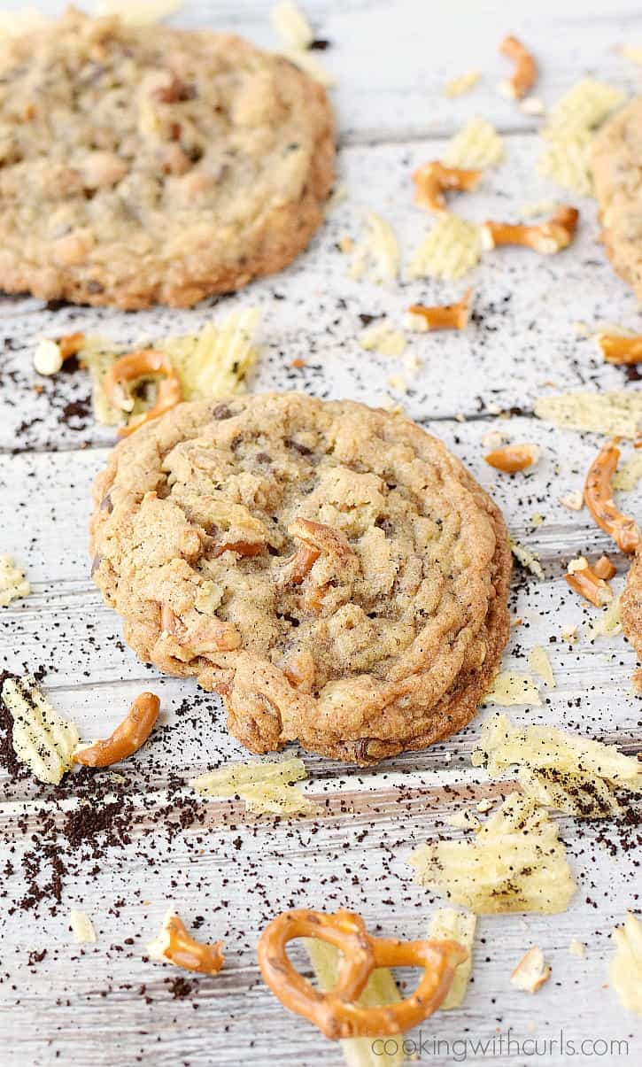 Compost Cookies - don't let the crazy name and ingredients scare you off, they are delicious!! cookingwithcurls.com