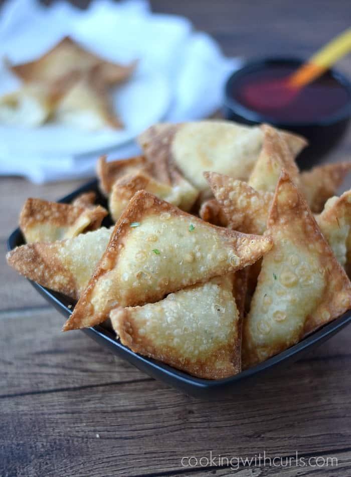 Crab Rangoons   cookingwithcurls.com