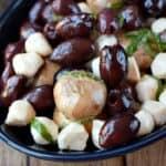 Marinated Olives and Mushrooms