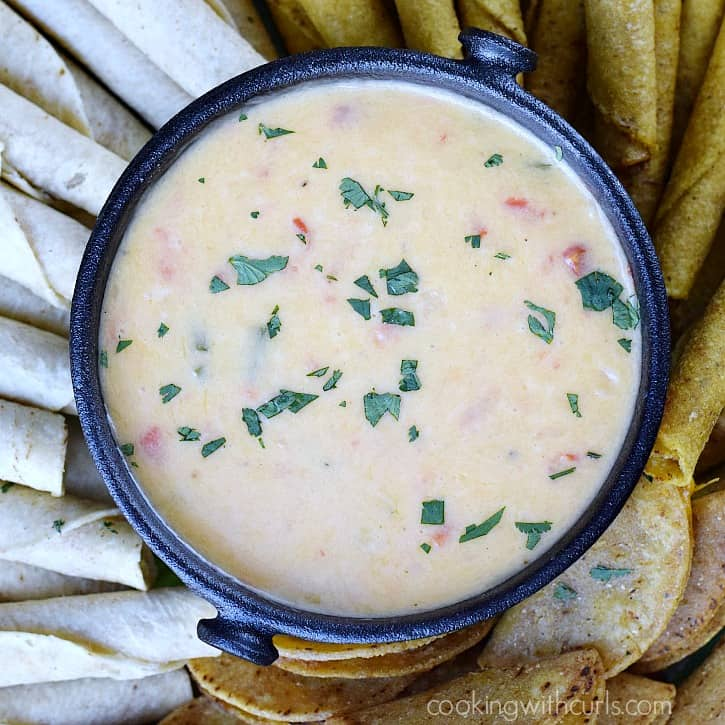 Queso Blanco Dip   cookingwithcurls.com