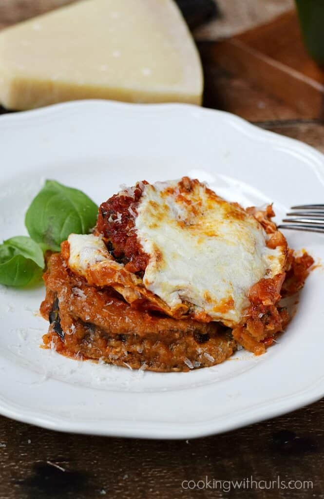 Gluten Free Eggplant Parmesan - Cooking With Curls