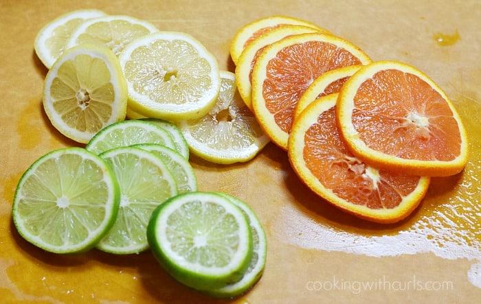 Summer Berry Sangria citrus cookingwithcurls.com