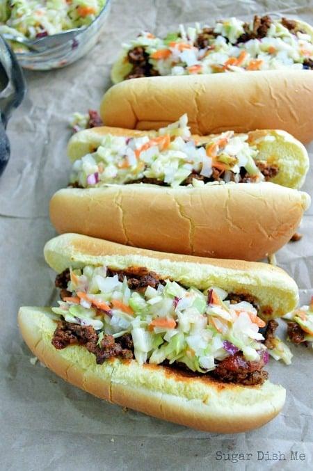 Carolina Style Hot Dogs450