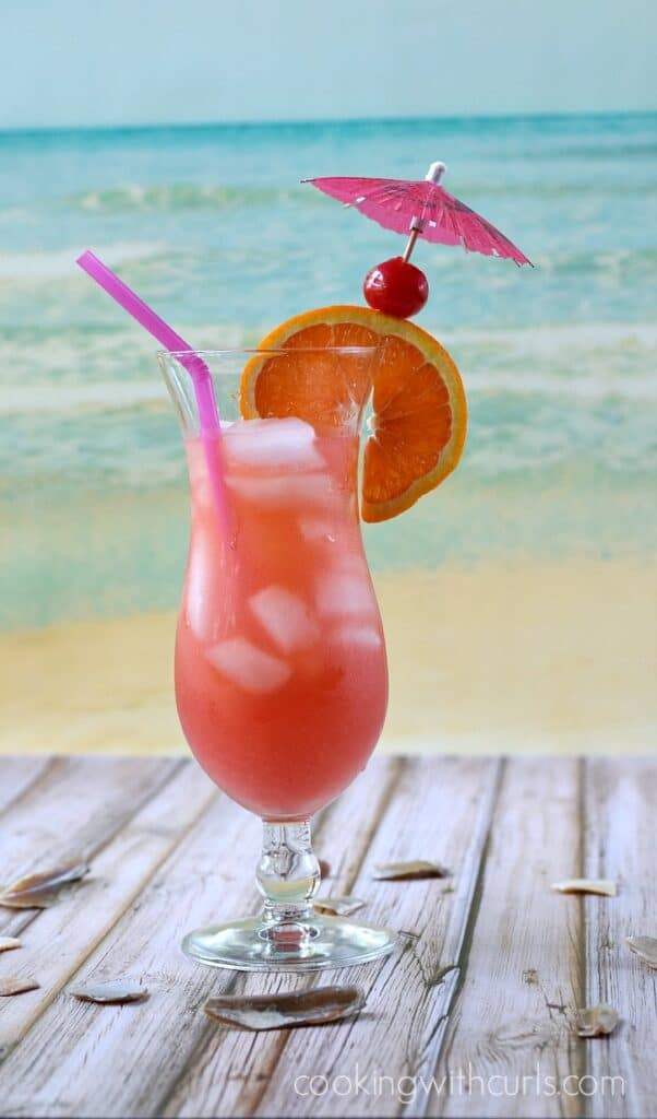tropical island beach drinks bahama cooking with curls 401