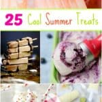 25 cool summer treats including popsicles, ice, cream, and shakes