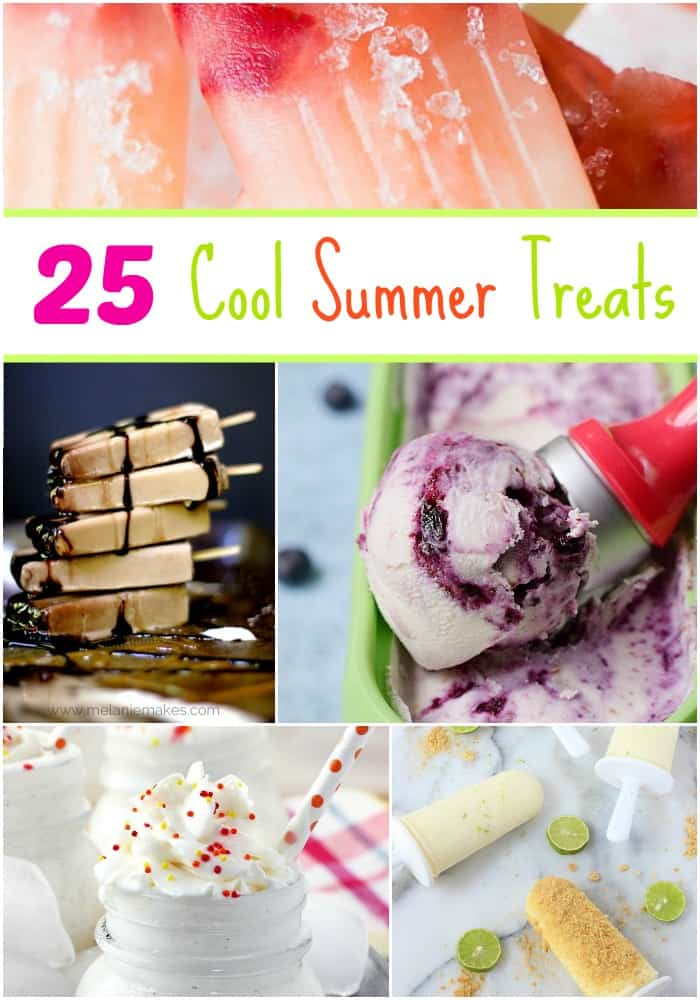 Beat the Summer heat with these 25 Cool Summer Treats | cookingwithcurls.com