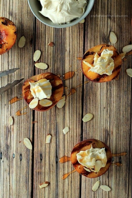 Grilled Peaches with Maple Honey Mascarpone2