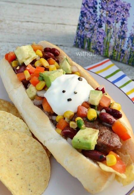 Tex-Mex Hotdogs