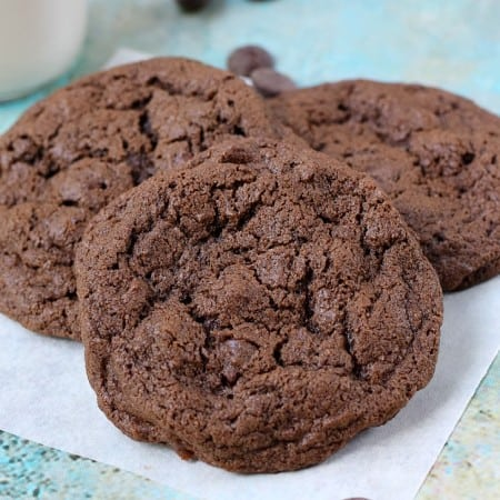 The Ultimate Double Chocolate-Chocolate Chip Cookies | cookingwithcurls.com