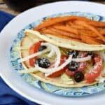 These Greek Hot Dogs are a fun twist on a traditional hot dog   cookingwithcurls.com