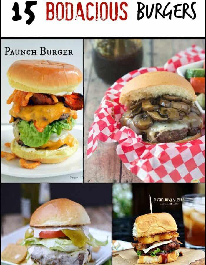 15 Bodacious Burgers | cookingwithcurls.com