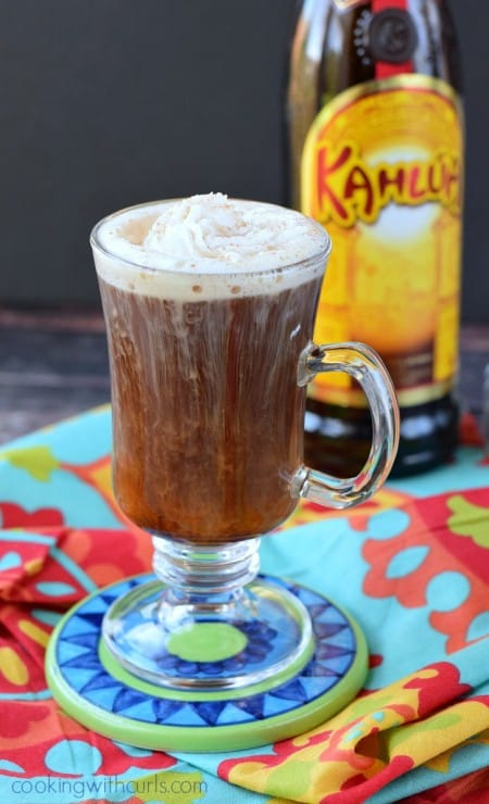Mexican Coffee Cocktail | cookingwithcurls.com