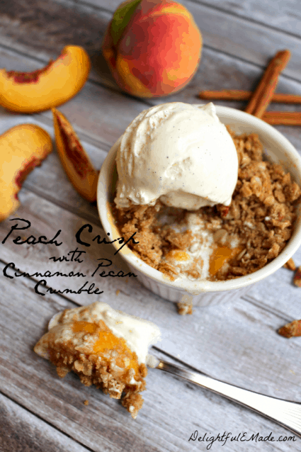 Peach-Crisp-with-Cinnamon-Pecan-Crumble-by-DelightfulEMade.com-vert1-w-txt-682x1024