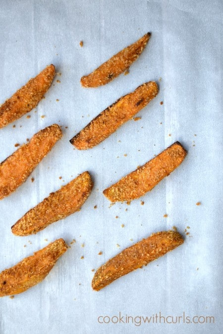 Southwest Sweet Potato Fries | cookingwithcurls.com