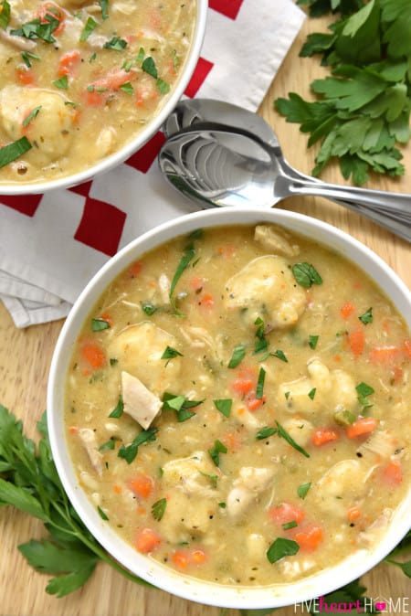 Classic-Chicken-and-Dumplings-Recipe-by-Five-Heart-Home_700pxBowlsAerial