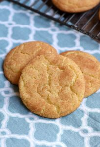Classic Snickerdoodles with a crispy outside and soft, light inside wrapped in cinnamon sugar cookingwithcurls.com