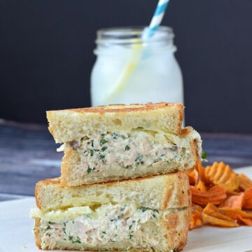 Gourmet Tuna Melt | cookingwithcurls.com