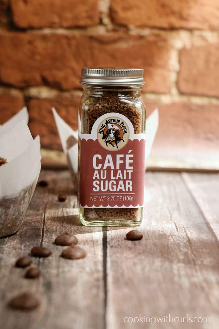 KAF Cafe Au Lait Sugar | cookingwithcurls.com