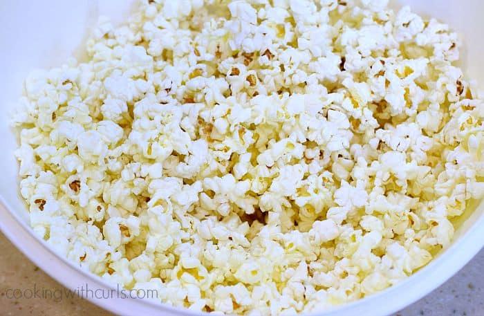 Monster Mash Popcorn popped cookingwithcurls.com