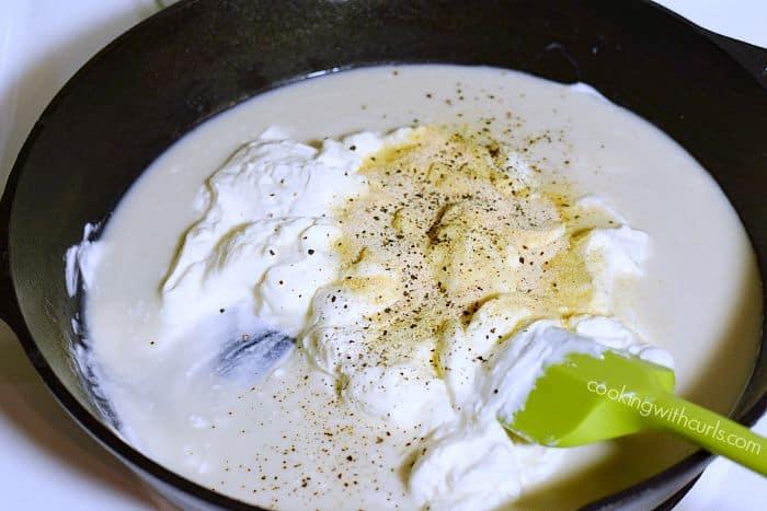 Tuna Noodle Casserole milk cookingwithcurls.com