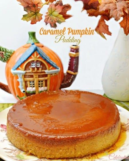 caramel pumpkin pudding