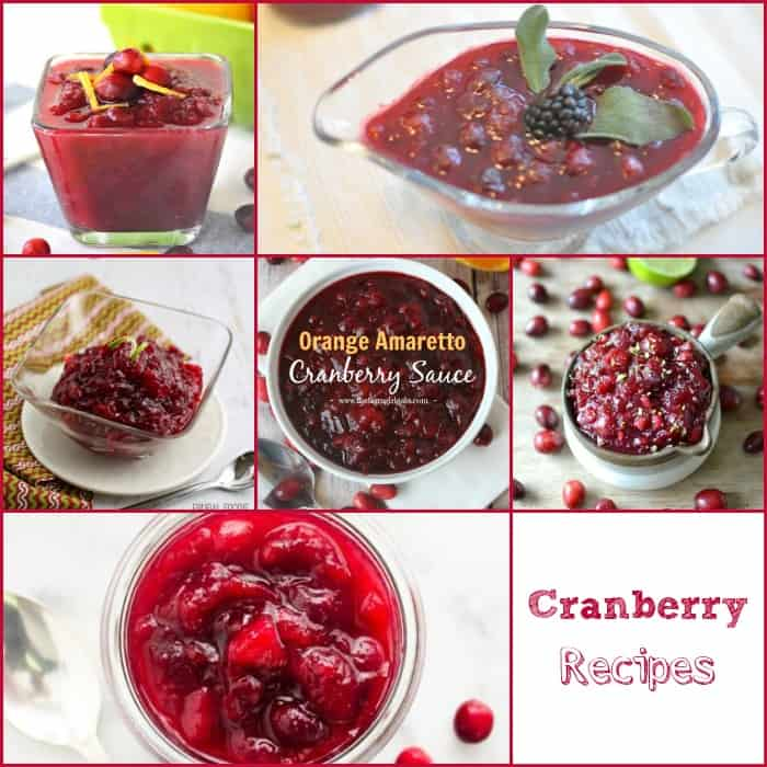 50 Amazing Thanksgiving Side Dishes Cranberry Recipes