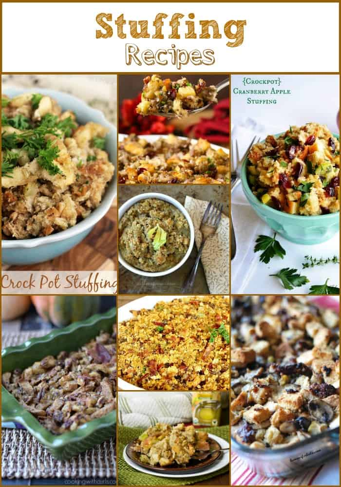 50 Amazing Thanksgiving Side Dishes Stuffing Recipes