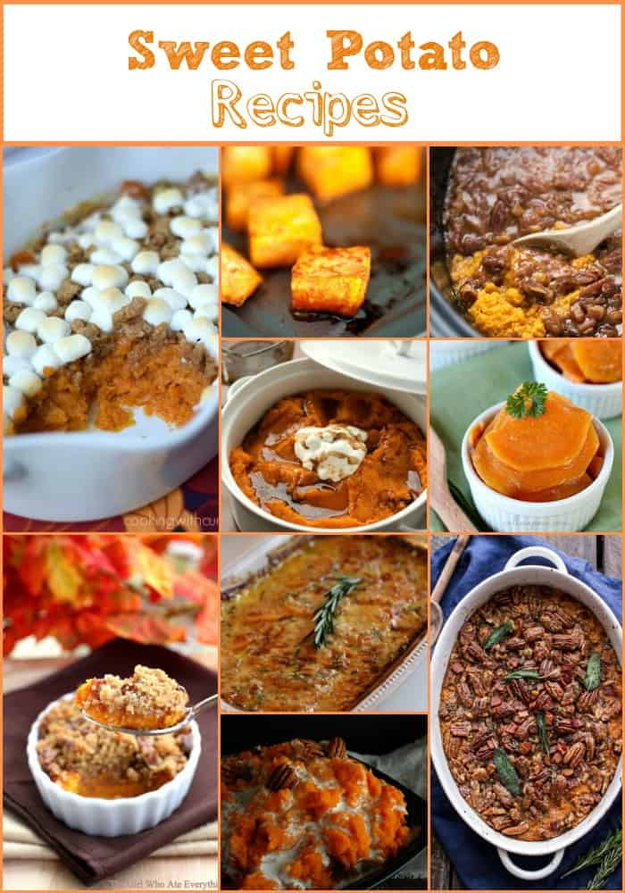 50 Amazing Thanksgiving Side Dishes Sweet Potato Recipes