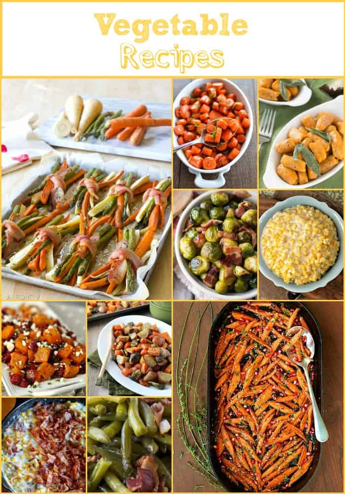 50 Amazing Thanksgiving Side Dishes Vegetable Recipes