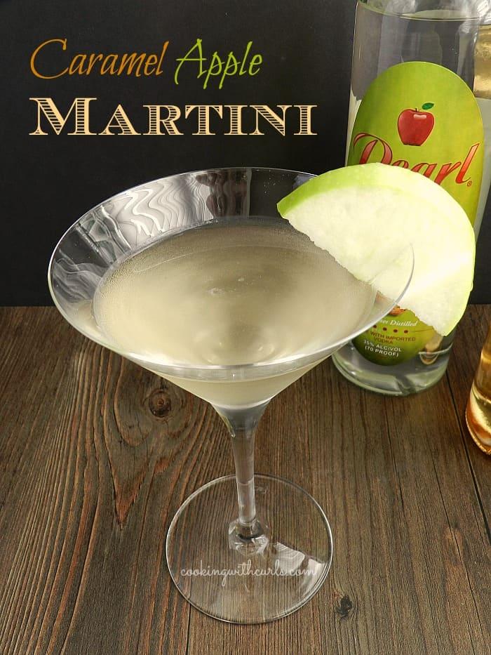 Caramel Apple Martini   cookingwithcurls.com