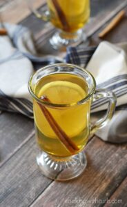 Fight back this cold and flu season with a Hot Toddy before bed | cookingwithcurls.com