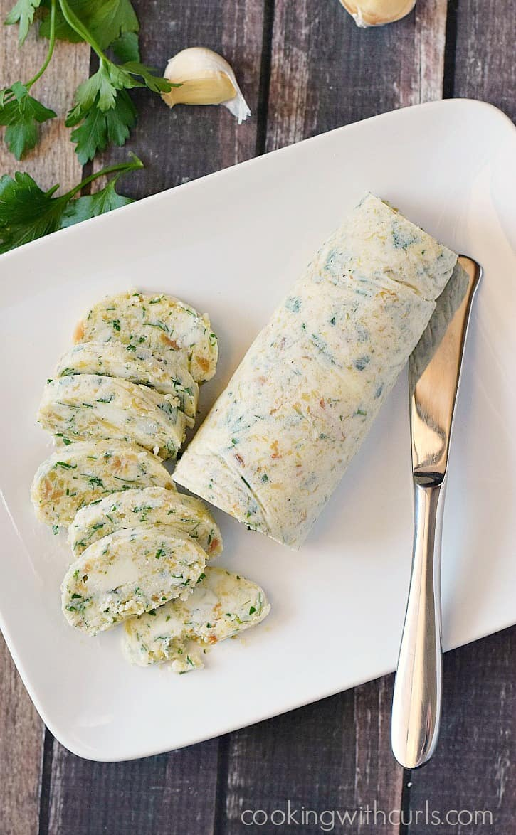 Take your steak to a whole new level by adding some Gorgonzola Butter!! cookingwithcurls.com
