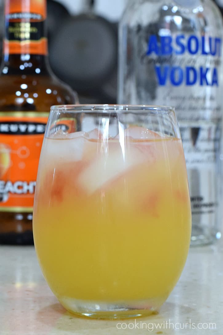 Holiday Relaxer Cocktail splash cookingwithcurls.com