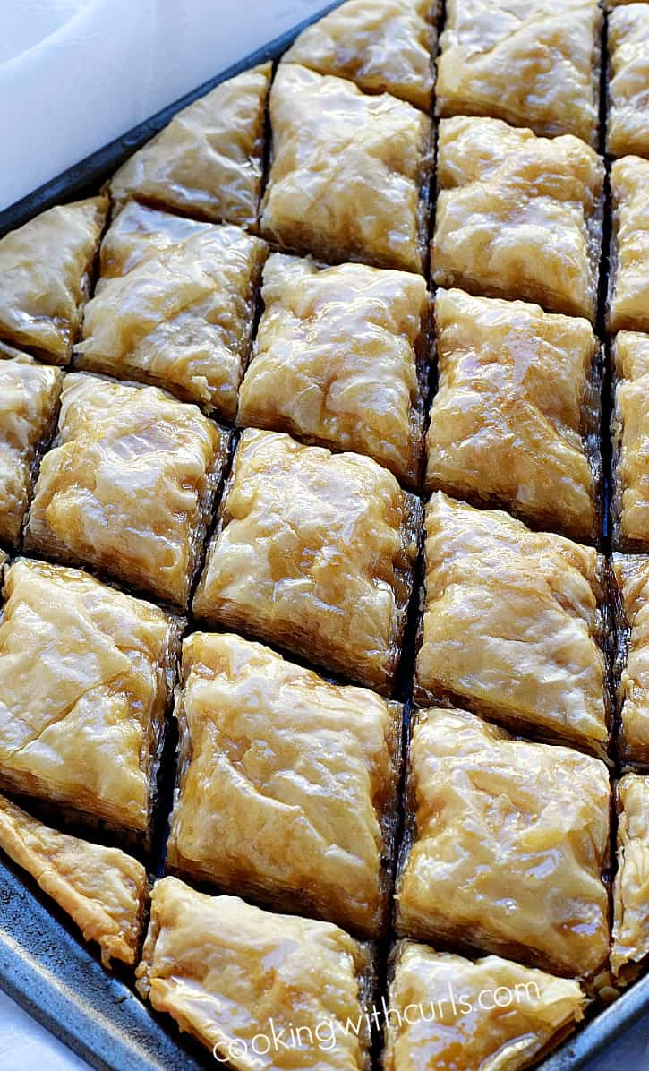 What is Choclava It is Baklava for chocolate lovers | cookingwithcurls.com