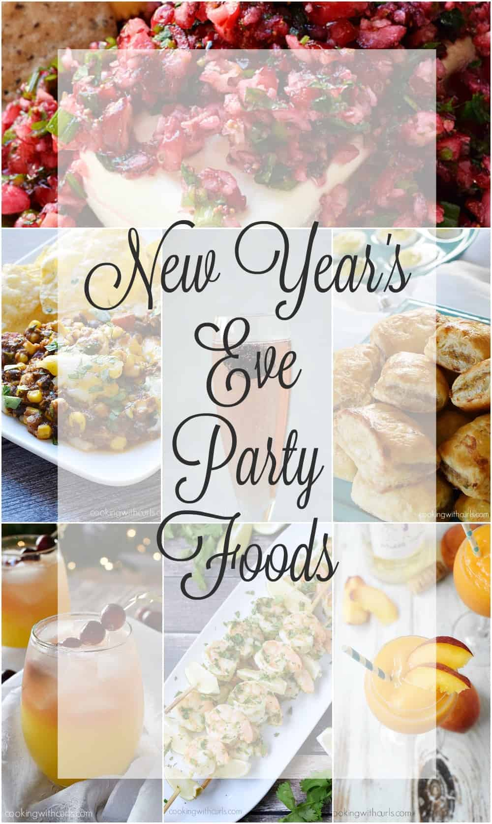 New Years Eve Party Foods 2015 | cookingwithcurls.com