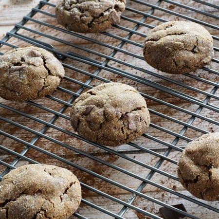 Triple Ginger Chocolate Chunk Cookies