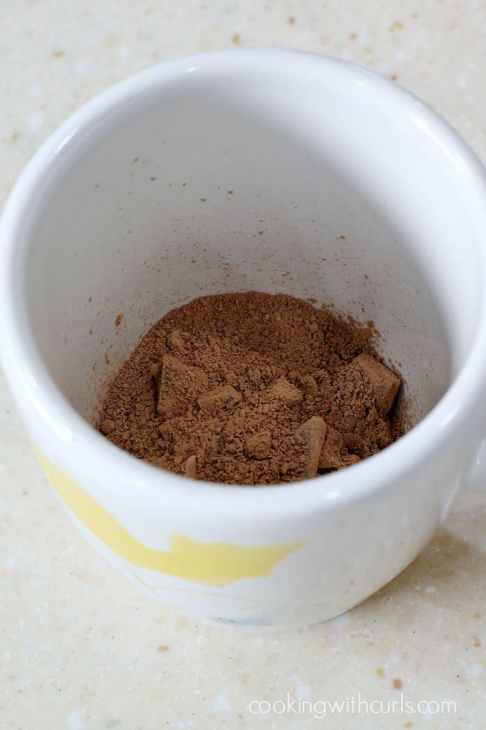 Caffe Mocha cacao cookingwithcurls.com