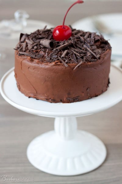 Cherry-Chocolate-Cake-for-Two-4-Barbara-Bakes