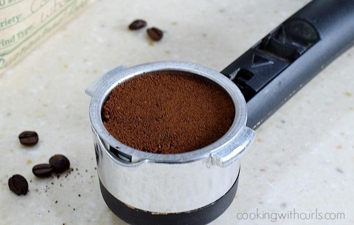 Espresso portafilter cookingwithcurls.com