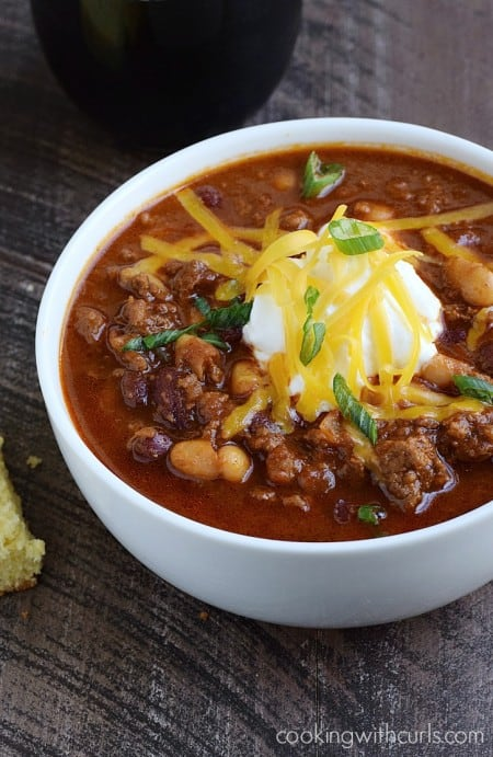 Guinness® Chili cookingwithcurls.com