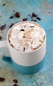 Start your morning out with a fresh, homemade Caffè Mocha | cookingwithcurls.com